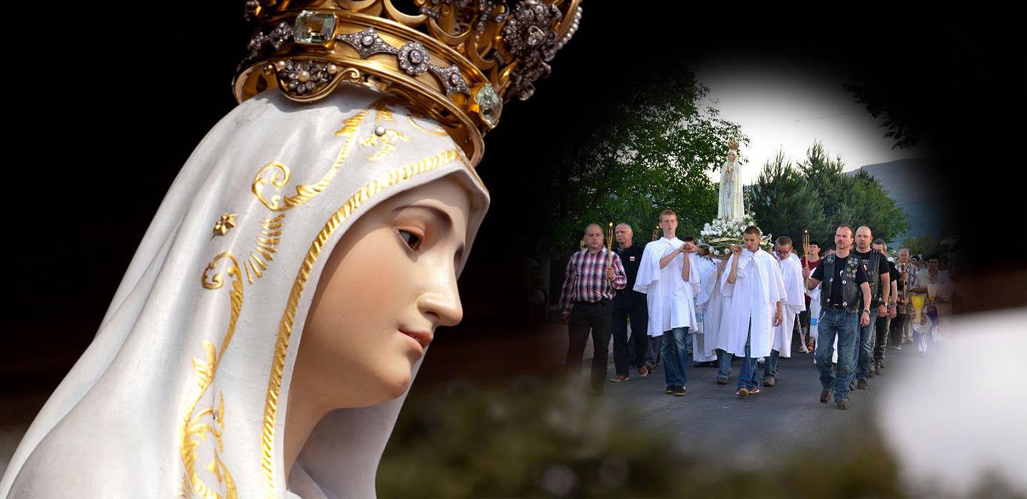 Znalezione obrazy dla zapytania nabożeństwo fatimskie